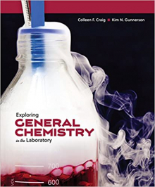 """Cover image of """"Exploring General Chemistry in the Laboratory"""""""