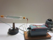 Crooke's tube and power supply