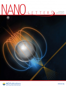 Cover of Nano Letters journal, November 2020