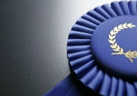 Stock Image from Microsoft of blue ribbon