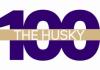 Husky 100 wordmark